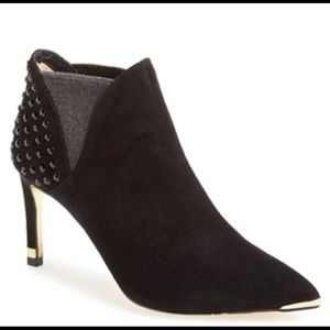 Ted Baker Suede Studded Ankle Boots Booties 39